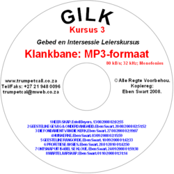GILK 3 MP3 Klankbane op CD