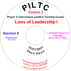 Laws of Leadership I
