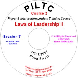 Laws of Leadership II